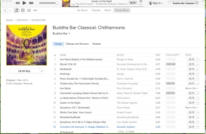 Queen of the Night, Buddha-Bar Classical- Chillharmonic